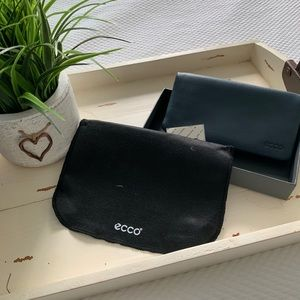 Ecco wallet with multiple card holders.